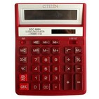 Calculator Citizen 888 XRD, rosu